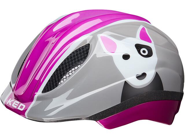 KED Meggy Trend Cykelhjälm Barn grå pink - till fenomenalt pris på ... bdb2dada90de5
